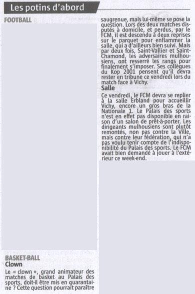 [J.05] FCMB - Vichy : 60 - 79 - Page 2 14-10-16-Alsace