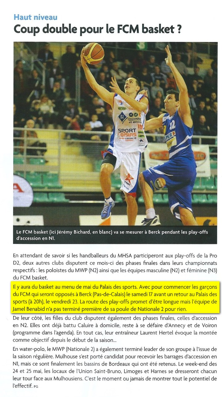 [Play-Offs] Game #1: Berck - FCMB: 76-80 - Page 3 2014-po