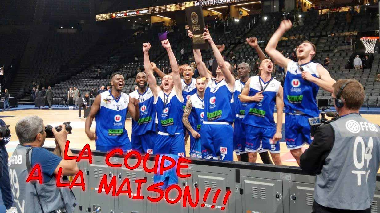 [J.33] FCMB - Quimper : 83 - 74.      On est en PLAY OFFS !!! TCdF