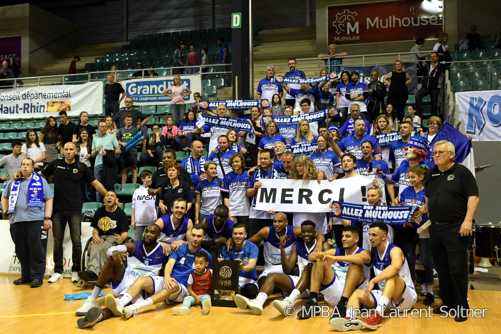 [J.26] Vendée Challans Basket - FC MULHOUSE : 65 - 82 Merci