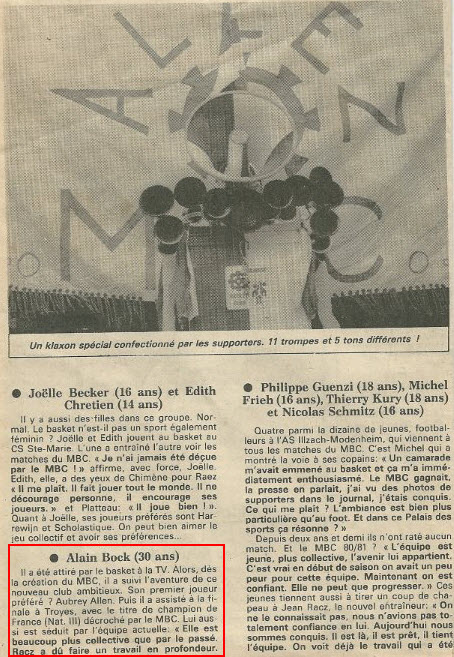 Articles/Infos Diverses: Le Kop, ses Membres ou le FCM! Oldbock