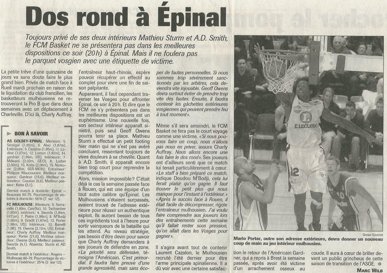 Saison 2004/2005 - Pro B Oldget1