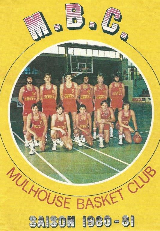 Saison 1980/1981 - N1 (Pro A) 80-81