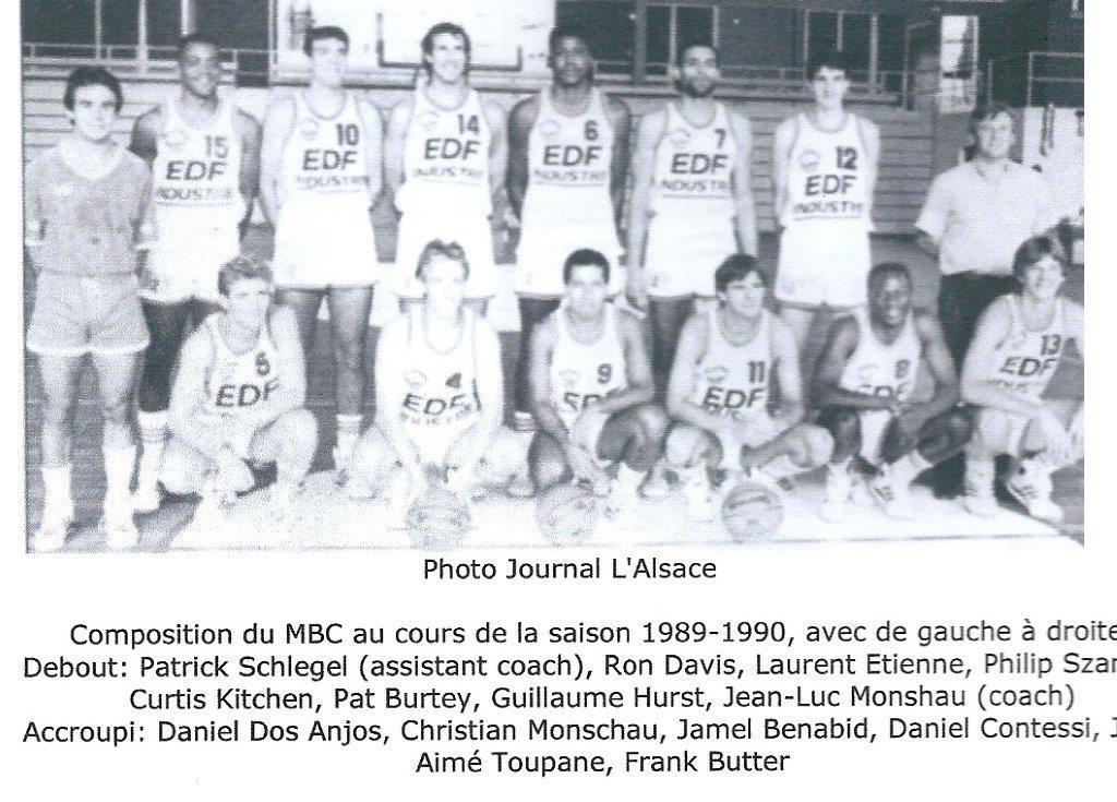 Saison 1989/90 - N1A (Pro A) 89-90